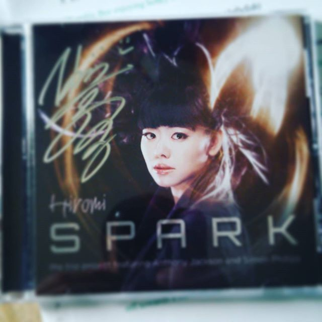 Hiromi Signed cd